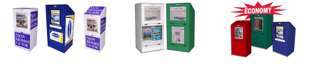 Free Publication Boxes - Newspaper & Magazine Distribution Boxes